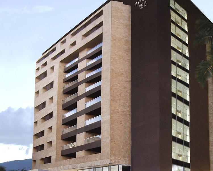 Facade ESTELAR Blue Hotel Medellin