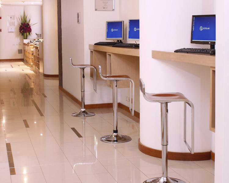 Business center ESTELAR Blue Hotel Medellin